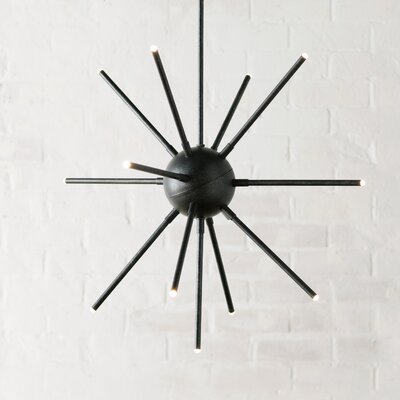 Neutra 1-Light Sputnik Chandelier