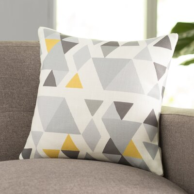 Hague Throw Pillow Size: 16 H x 16 W, Color: Gray/Multi