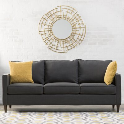 Del Lago Ivy Sofa Upholstery: Hootie Charcoal