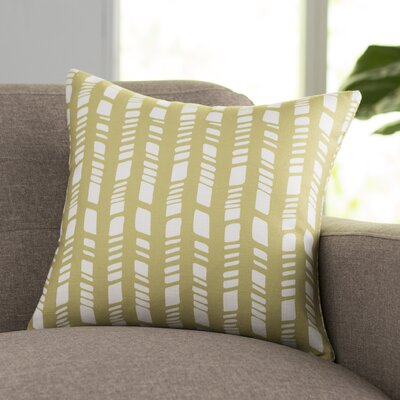 Sahara Throw Pillow Color: Sage, Size: 18 H x 18 W