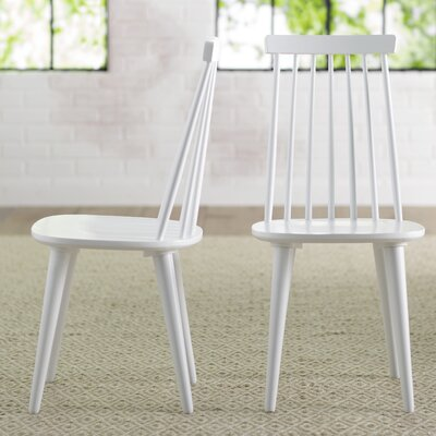 Clarence Side Chair Finish: White