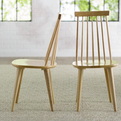 Olander Side Chair Finish: Natural
