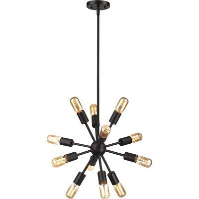 Kendall 12-Light Sputnik Chandelier Size: 27