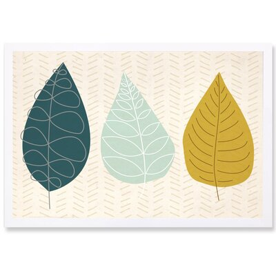 World of Leaves Framed Wall Art