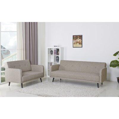 Zelmo Sleeper Sofa Upholstery: Jute