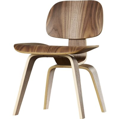Edmond Side Chair Finish: Walnut