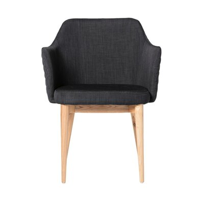 Glen Armchair Upholstery: Gray