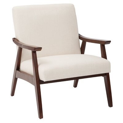 Coral Springs Arm Chair Upholstery: Linen