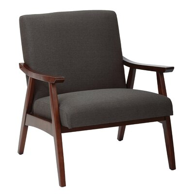 Coral Springs Arm Chair Upholstery: Klein Charcoal