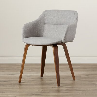 Corozon Arm Chair Upholstery: Grey