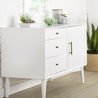 Easmor 40 TV Stand Color: White