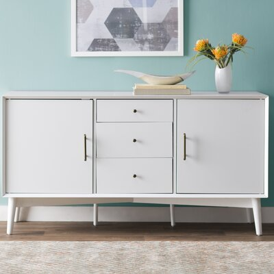 Easmor Sideboard Finish: White