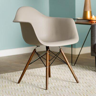 Drumahiskey Flair Arm Chair Color: Cappuccino