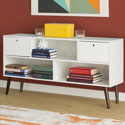 Carneal TV Stand Color: White