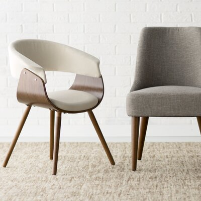 Frederick Barrel Chair Upholstery: Cream