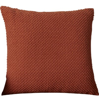 Coleharbor 100% Cotton Throw Pillow Color: Paprika