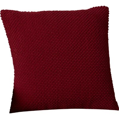 Coleharbor 100% Cotton Throw Pillow Color: Red