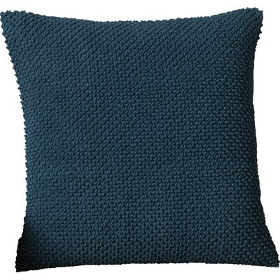 Coleharbor 100% Cotton Throw Pillow Color: Peacock Blue