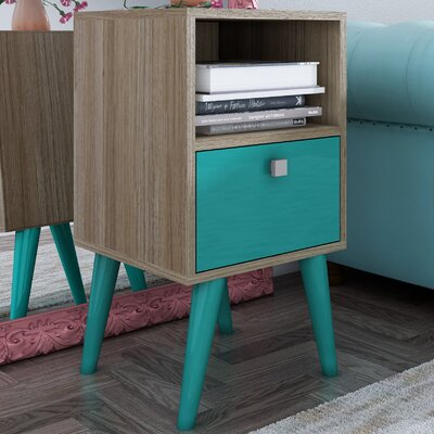 Fabulous Langley Street Carneal 1 Drawer Nightstand Inzonedesignstudio Interior Chair Design Inzonedesignstudiocom