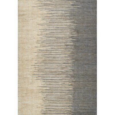 Hargrove Gray Area Rug Rug Size: 86 x 116