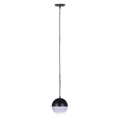 Escuela 1-Light Bowl Pendant Finish: Black