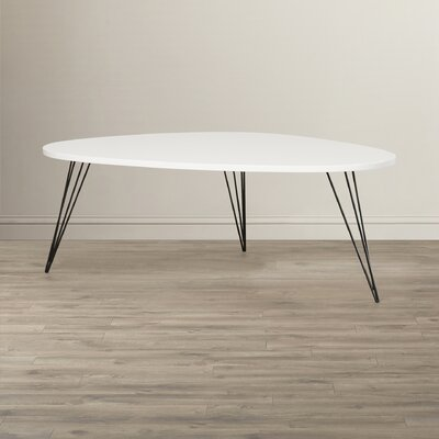 Seraphina Coffee Table Finish: White/Black