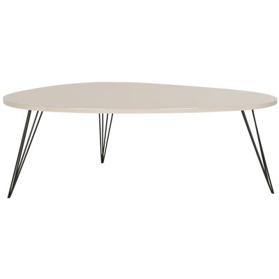 Seraphina Coffee Table Finish: Taupe/Black