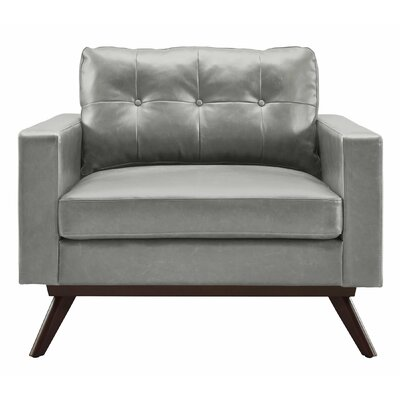 Rochester Arm Chair Upholstery: Gray