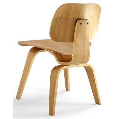 Edmond Side Chair Finish: White Oak