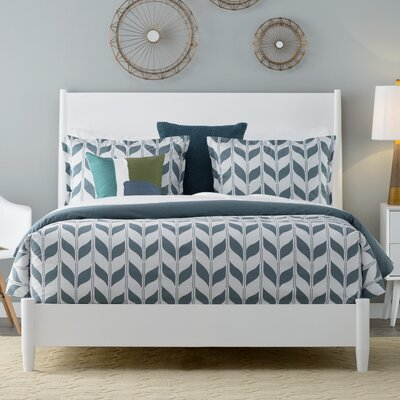 Madrona Comforter Set Color: Deep Teal Multi, Size: King
