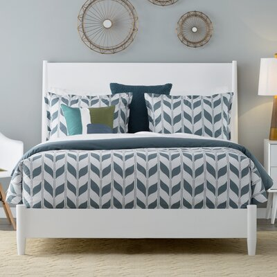 Madrona Duvet Cover Set Size: Twin, Color: Deep Teal Multi