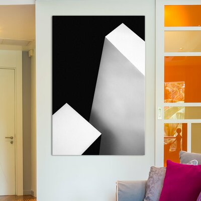 Langley Street Nero Bianco Photographic Print on Wrapped Canvas