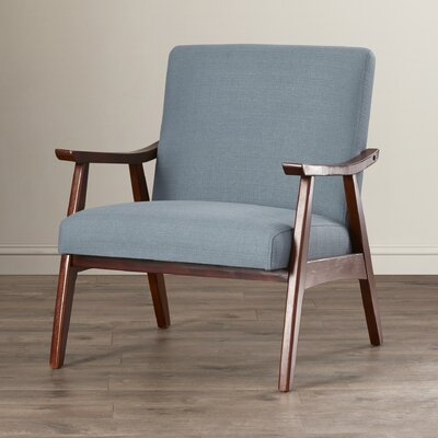 Coral Springs Arm Chair Upholstery: Klein Sea
