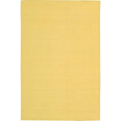 Stella Hand-Woven Yellow Area Rug