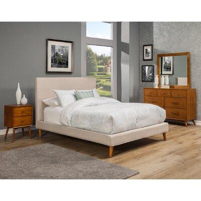 Parocela Upholstered Platform Bed Size: California King