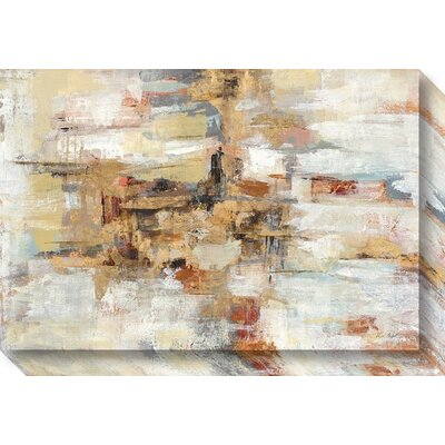 Langley Street Old Bridge Reminiscence Painting Print on Wrapped Canvas