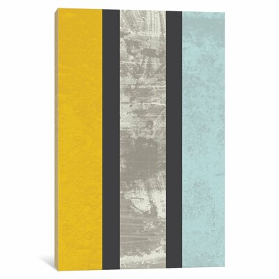 Langley Street Marble Graphic Art on Wrapped Canvas
