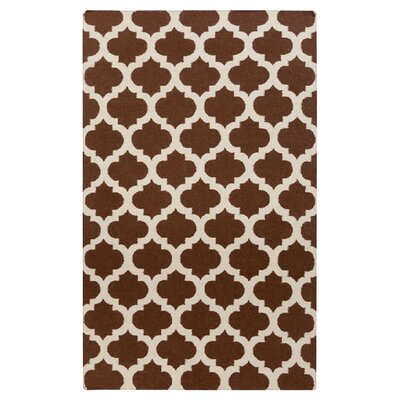 Ash Hand-Woven Brown/Beige Area Rug