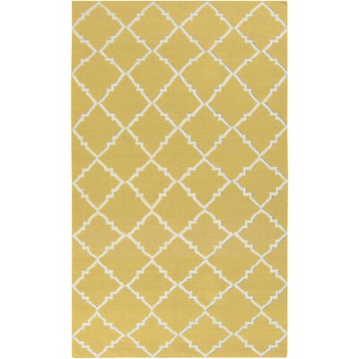 Ash Hand-Woven Gold Area Rug
