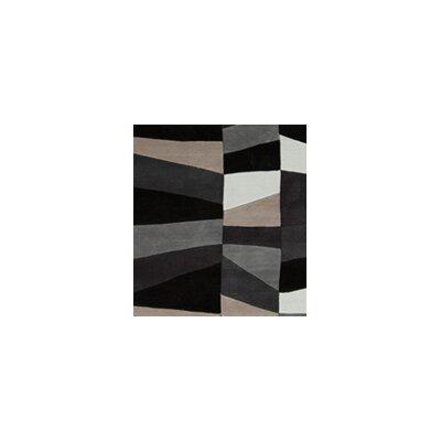 Carlotta Charcoal Gray/Misty White Area Rug Rug Size: 9 x 13