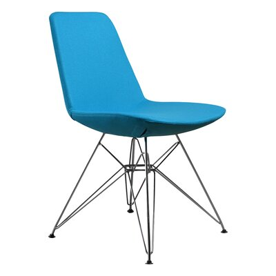 Brook Side Chair Upholstery: Turquoise