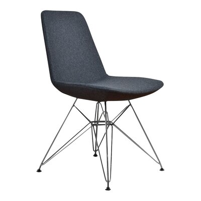 Brook Side Chair Color: Gray