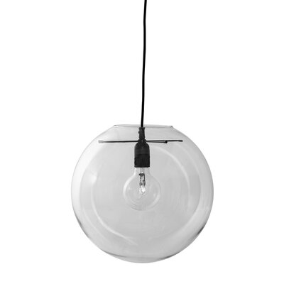 Waco 1-Light Mini Pendant Shade Color: Clear