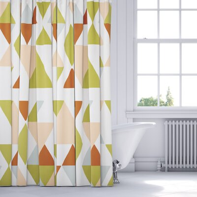 Hague Shower Curtain Color: Pink/Multi