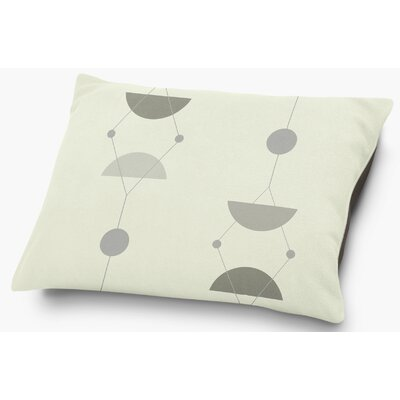 Greenville Pillow with Super Plush Poly Top Color: Gray/Multi