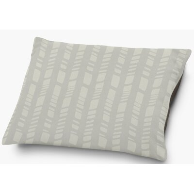 Nesler Pet Pillow with Super Plush Poly Top Color: Gray