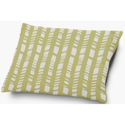 Nesler Pet Pillow with Super Plush Poly Top Color: Sage