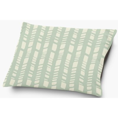 Nesler Pet Pillow with Super Plush Poly Top Color: Seafoam