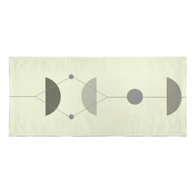 Greenville Beach Towel Color: Gray/Multi