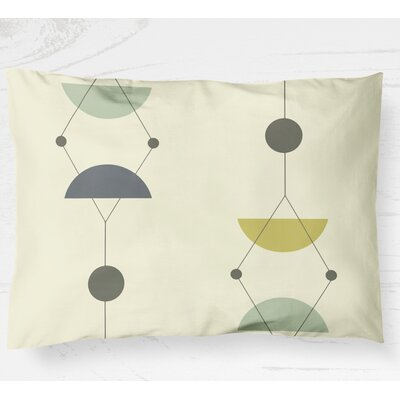 Greenville Pillow Cover Size: 20 H x 30 W, Color: Green/Multi